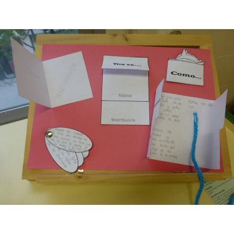 Lapbook investigación de un animal